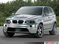 2000 BMW X5 Le Mans Concept = 311 kph, 700 bhp, 4.7 sec.