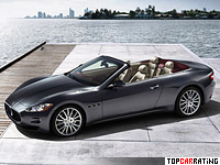 2009 Maserati GranCabrio = 283 kph, 440 bhp, 5.4 sec.