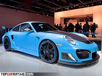 2012 Porsche 911 GT2 RS TechArt GTStreet = 352 kph, 720 bhp, 3.3 sec.