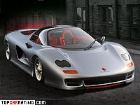 1989 Jiotto Caspita = 345 kph, 585 bhp, 3.4 sec.
