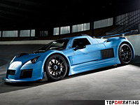 2011 Gumpert Apollo S = 360 kph, 750 bhp, 3 sec.