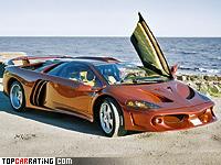 2000 Lamborghini Diablo Coatl = 385 kph, 645 bhp, 3.5 sec.