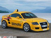 2007 Audi TT MTM Bimoto = 393 kph, 740 bhp, 3.1 sec.