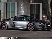 2010 Audi R8 V10 Anderson Germany Racing Edition = 328 kph, 585 bhp, 3.7 sec.