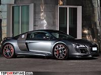 2010 Audi R8 V10 Anderson Germany Racing Edition = 328 kph, 585 bhp, 3.7 sec.
