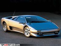 1993 Lamborghini Diablo VT = 325 kph, 492 bhp, 4.1 sec.