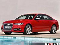 2012 Audi S6 = 250 kph, 420 bhp, 4.8 sec.