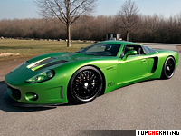 2012 CCG Automotive customGT = 320 kph, 740 bhp, 3.3 sec.
