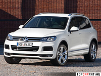 2011 Volkswagen Touareg V8 TDI R-Line = 242 kph, 340 bhp, 5.8 sec.