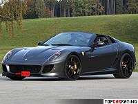 2012 Ferrari 599 SA Aperta Novitec Rosso = 340 kph, 888 bhp, 3.1 sec.