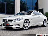 2012 Brabus 800 Coupe = 350 kph, 800 bhp, 3.9 sec.