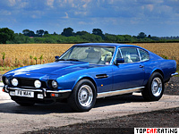 1989 Aston Martin V8 Coupe = 241 kph, 305 bhp, 6.8 sec.
