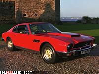 1977 Aston Martin V8 Vantage = 263 kph, 396 bhp, 5.2 sec.