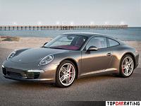 2012 Porsche 911 Carrera S = 302 kph, 400 bhp, 4.1 sec.