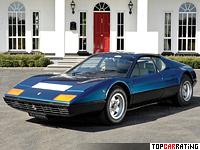1973 Ferrari 365 GT/4 BB = 282 kph, 385 bhp, 6.9 sec.