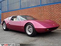 1970 Monteverdi Hai 450 SS = 290 kph, 450 bhp, 4.8 sec.