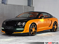 Bentley Continental GT Le Mansory 6 litre W12 AWD 2008