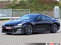 2012 Nissan GT-R = 315 kph, 550 bhp, 2.7 sec.