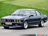 1984 BMW M635CSi = 252 kph, 286 bhp, 5.7 sec.