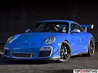 2011 Porsche 911 GT3 RS 4.0 = 310 kph, 500 bhp, 3.9 sec.