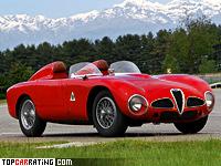 1953 Alfa Romeo 6C 3000 CM Colli Spider = 250 kph, 275 bhp, 7 sec.