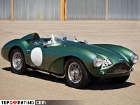 1954 Aston Martin DB3S = 233 kph, 225 bhp, 6.5 sec.