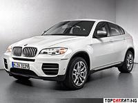 2012 BMW X6 M50d = 250 kph, 381 bhp, 5.3 sec.