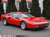 1985 Ferrari 328 GTB = 267 kph, 274 bhp, 6.4 sec.
