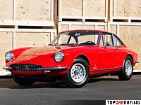1968 Ferrari 365 GTC = 243 kph, 320 bhp, 6.3 sec.