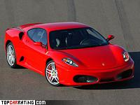 2004 Ferrari F430 = 315 kph, 490 bhp, 4 sec.