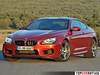 2012 BMW M6 Coupe (F13) = 305 kph, 560 bhp, 4.2 sec.
