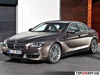 2012 BMW 650i Gran Coupe = 250 kph, 450 bhp, 4.6 sec.