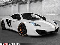 2012 McLaren MP4-12C Wheelsandmore Toxique Evil = 350 kph, 666 bhp, 3.1 sec.