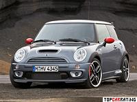 2006 Mini Cooper S John Cooper Works GP (R53) = 236 kph, 218 bhp, 6 sec.