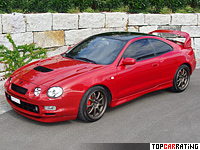 Toyota Celica GT-Four (ST205) generation VI 2 litre Inline 4 AWD 1994