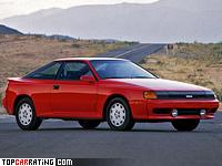 1986 Toyota Celica GT-Four (ST165) generation IV = 220 kph, 175 bhp, 7.9 sec.