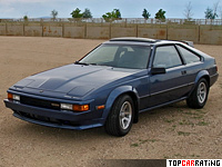 1984 Toyota Celica Supra MkII = 209 kph, 181 bhp, 8.8 sec.