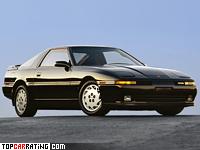 1986 Toyota Supra Turbo MkIII = 232 kph, 232 bhp, 6.2 sec.