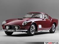 1956 Ferrari 250 GT Tour de France = 262 kph, 260 bhp, 5.2 sec.