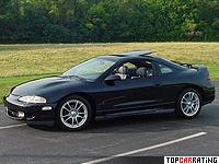 1995 Mitsubishi Eclipse GSX (2G, D30) = 224 kph, 210 bhp, 6.8 sec.