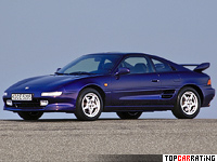 Toyota MR2 GT (W20) generation II 2 litre Inline 4 turbocharged RWD 1989