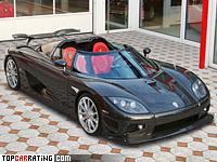 2008 Koenigsegg CCXR Edition = 402 kph, 1032 bhp, 2.9 sec.