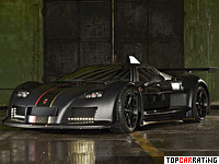 2012 Gumpert Apollo Enraged = 330 kph, 780 bhp, 2.9 sec.