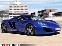 2012 McLaren MP4-12C Gemballa GT = 333 kph, 625 bhp, 3.1 sec.