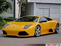 2006 Lamborghini Murcielago LP640-4 = 340 kph, 640 bhp, 3.4 sec.