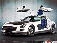 2011 Mercedes-Benz SLS AMG Mansory = 350 kph, 732 bhp, 3.5 sec.