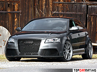 2012 Audi RS3 Sportback Sportec RS 500 = 302 kph, 507 bhp, 3.9 sec.