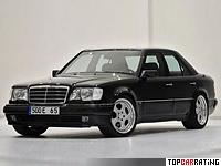 1994 Brabus E 500 6.5 = 285 kph, 450 bhp, 5.2 sec.