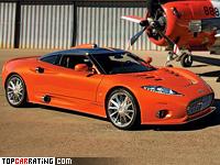 2008 Spyker C8 Aileron = 300 kph, 400 bhp, 4.4 sec.