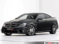 2012 Brabus Bullit Coupe 800 = 370 kph, 800 bhp, 3.7 sec.